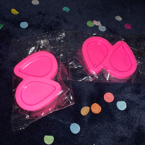 Teardrop Earring Small Molds