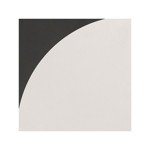 150x150mm Aquarel Dark Grey Dec Curv Matt