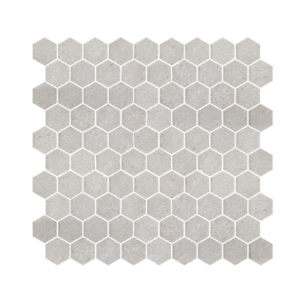 Milton Grey Hex Honed