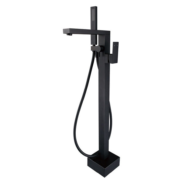 JET Matte Black Floor Standing Mixer & Shower
