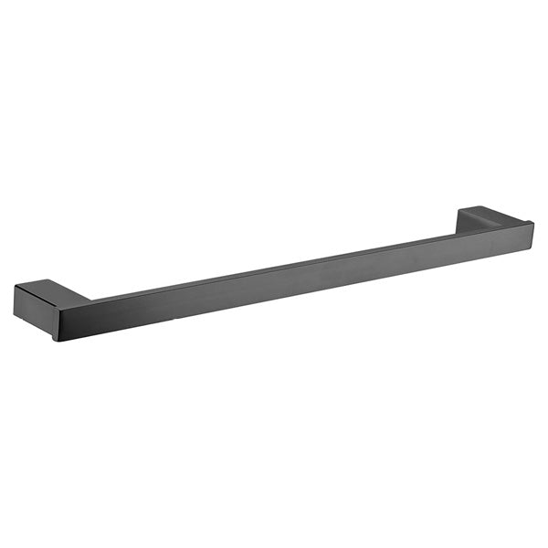 KOKO Matte Black Towel Rail, Single 810