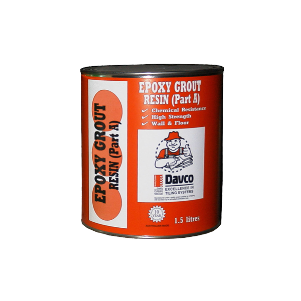 Davco Epoxy Grout (Resin & Hardner)