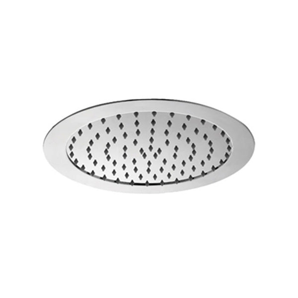 SOFFITO Round Flush to Ceiling Overhead Rain Shower
