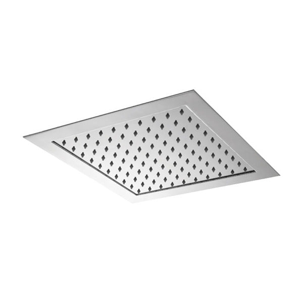 SOFFITO Square Flush to Ceiling Overhead Rain Shower