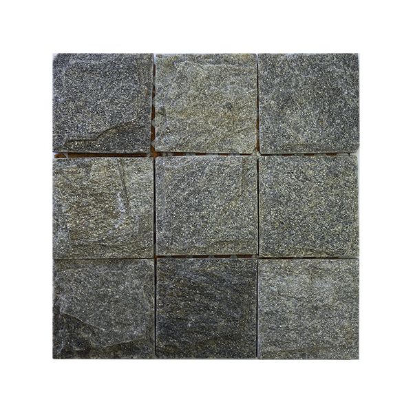 305x305mm <br> Shimmer Slate Cobblestone <br> $5/sheet (inc gst)