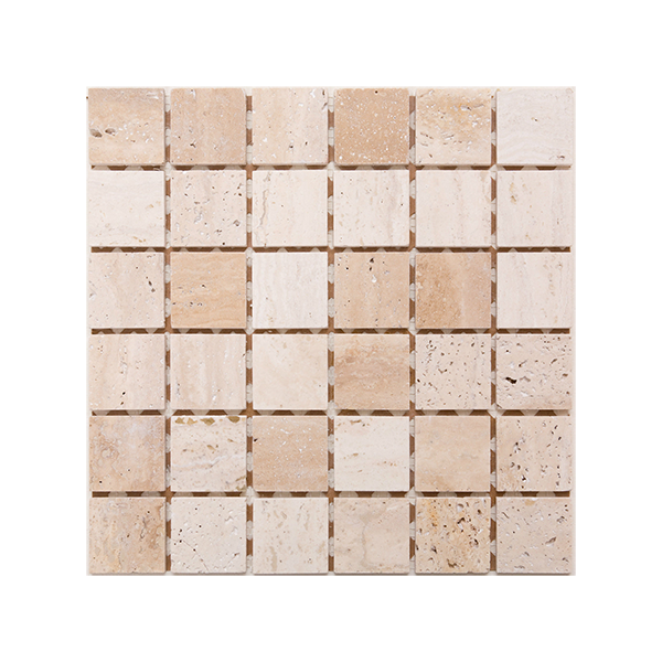 305x305mm <br> Travertine Polished <br> $5/sheet (inc gst)