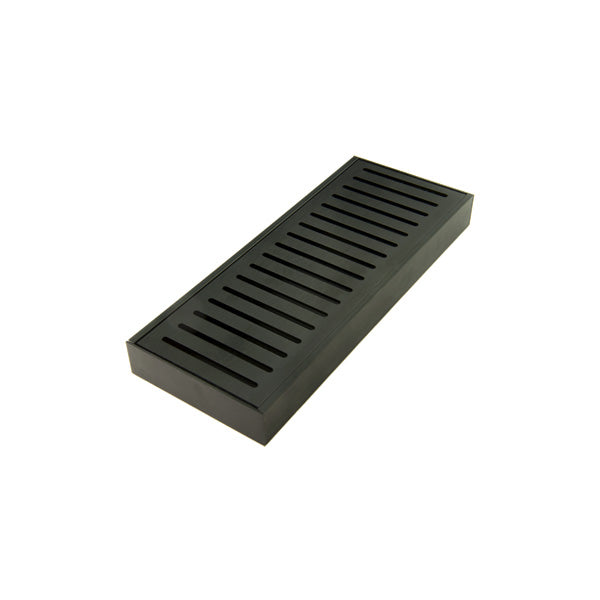 Lauxes 'Celleni' Wide Aluminium Midnight Floor Grate Kit