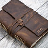 Monogram Your Own Personalized Leather Journal