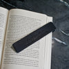 Personalized Premium Leather Bookmark - Black - Ox & Pine