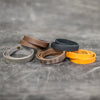 Personalized Leather Triple Wrap Bracelet - color Options - Ox & Pine