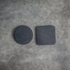 Round and Square Leather Coasters from Ox & Pine Leather Goods