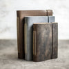 Classic Personalized Leather Journal with Professional Elastic Closure