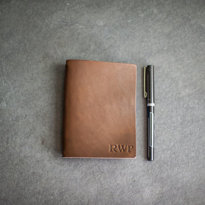 Refillable Personalized Leather Pocket Journal
