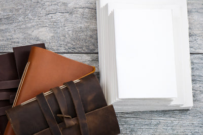 Extra Pages for Sewn-in Leather Journal - Ox & Pine Leather Goods