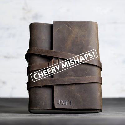 Cheery Mishaps - Classic Leather Journals