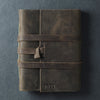Premium Leather Journal - 5x7 - Rustic Brown - Ox & Pine