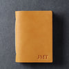 Personalized Leather Pocket Notebook Journal - Saddle Tan - Ox & Pine