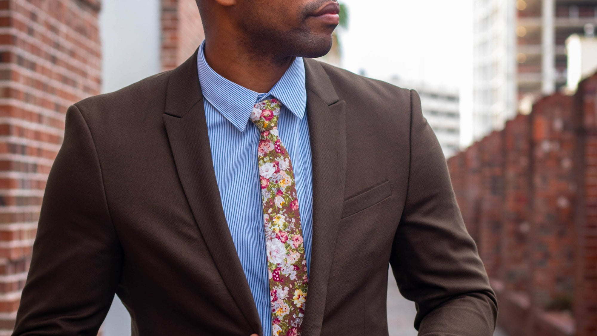 8 Floral Ties The Man in Your Life Will Love