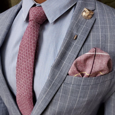 Tie Set - Royal Red Tie Set