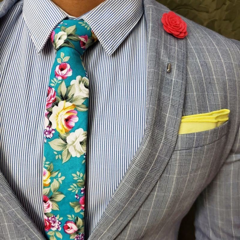 Tie Set - Floral Winter Fresh Tie Set