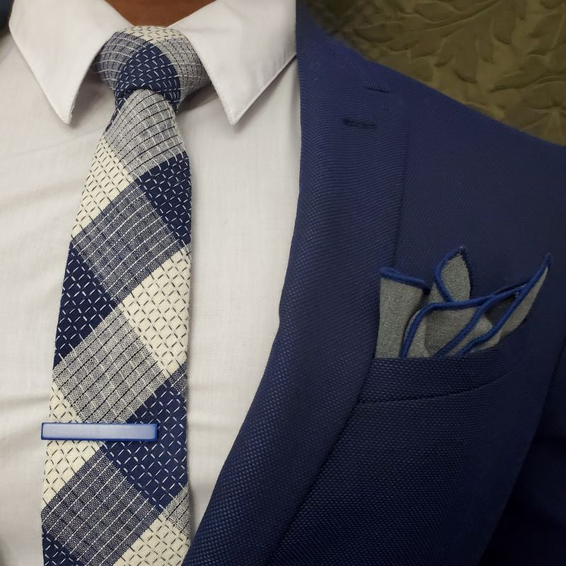 Pocket Square - Solid Iron Pocket Square