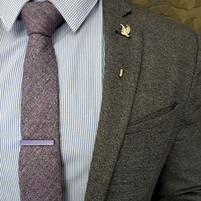 Purple Tie Bar