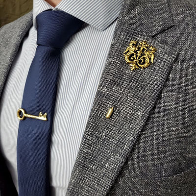 Lapel Pin - Bronze Royal Crest