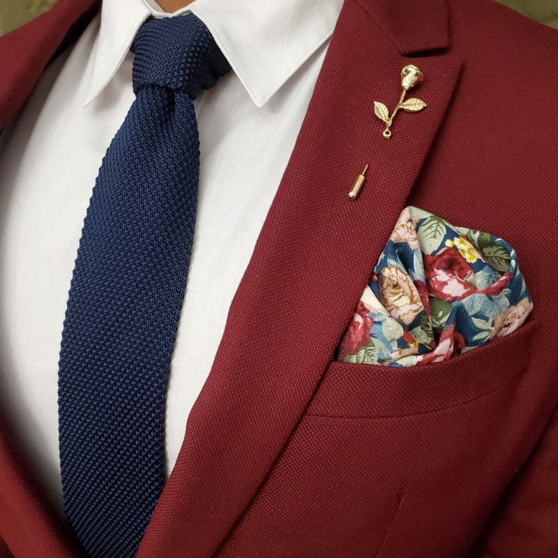 Tie - Knitted Cherry Taffy Tie