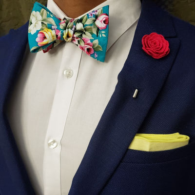 Bow Tie - Floral Winter Fresh Bow Tie