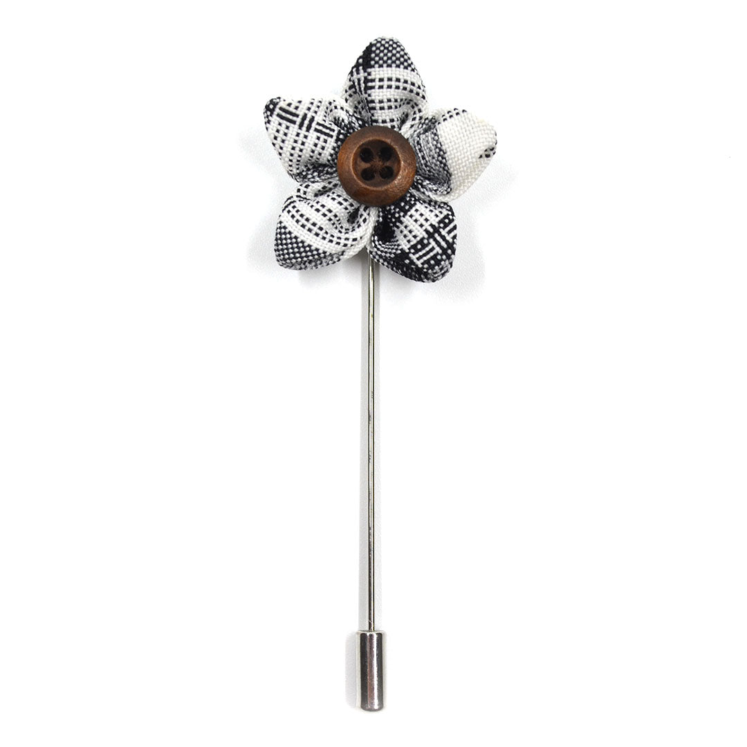 Lapel Pin - Wildflower Plaid