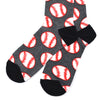 Baseball Grey Men's Socks