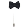 Lapel Pin - Bow Tie Jet Black