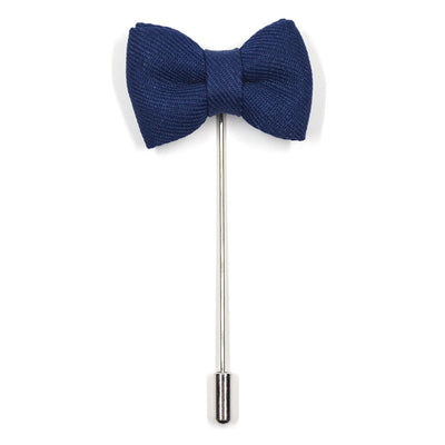 Lapel Pin - Bow Tie Navy