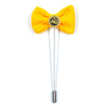 Lapel Pin - Bow Tie Yellow