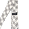 Checkered Heather Grey Tie