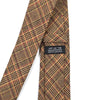 Checkmate Plaid Tan Tie