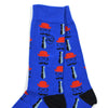 Commissioner Blue Men's Socks