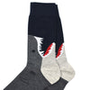 Daddy Shark Men's Socks
