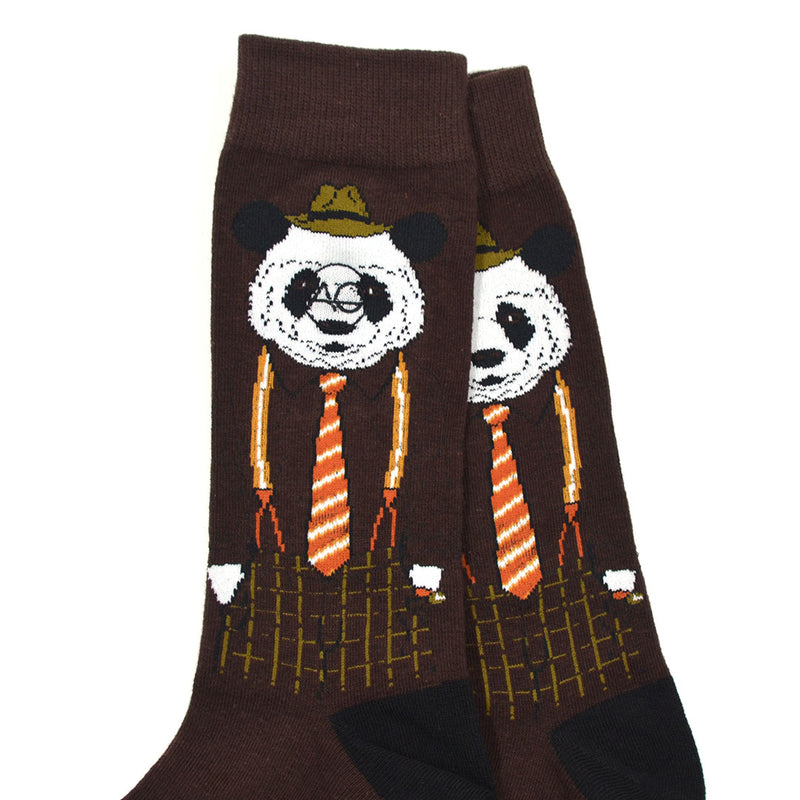 Dapper Panda Men's Socks