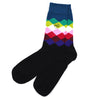 Diamond Black/Navy Men's Socks