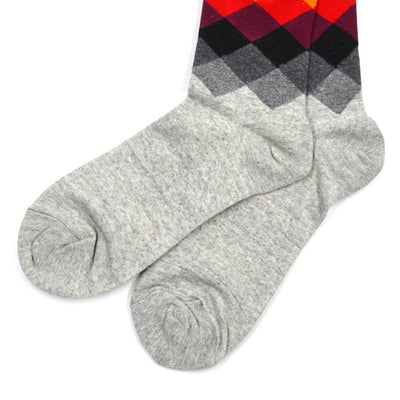 Diamond Grey Men's Socks