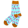 Flamingo Aqua Men's Socks