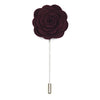 Lapel Pin - Floral Burgundy