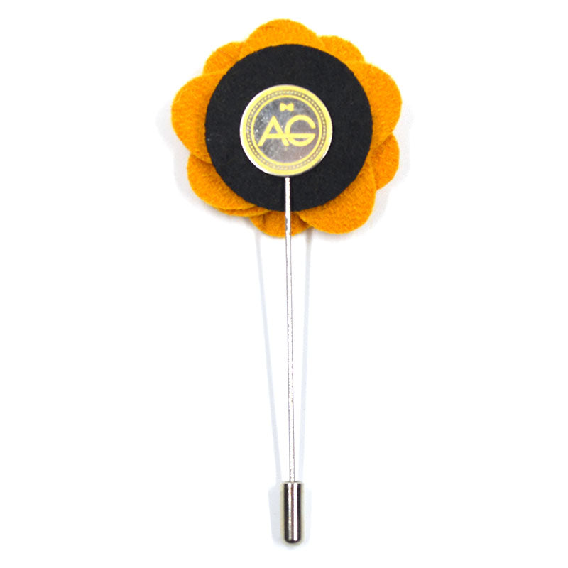 Lapel Pin - Floral Sunflower