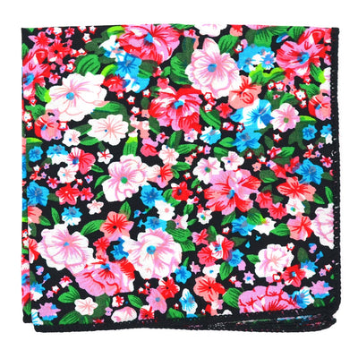 Floral Cotton Candy Pocket Square