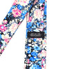 Floral Electric Blossoms Tie