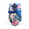 Floral Electric Blossoms Tie Set