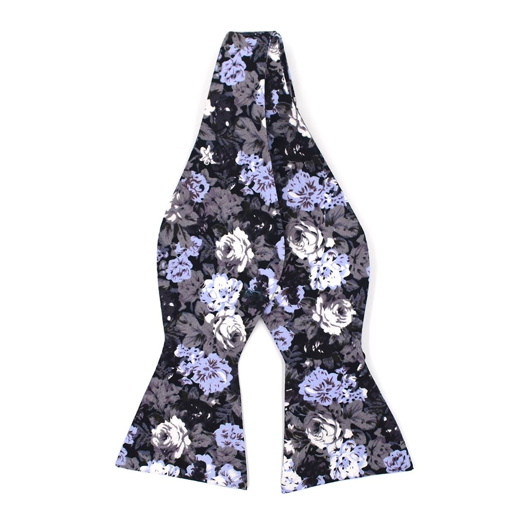 Floral Great Owl Bow Tie