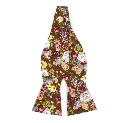 Floral Moss Bow Tie