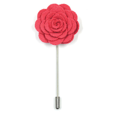 Lapel Pin - Floral Pink